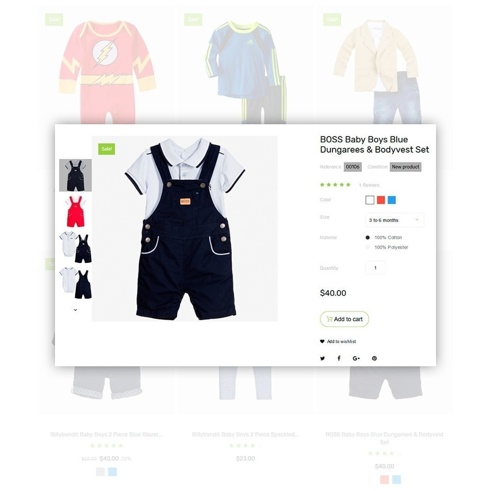 theme - Home & Garden - Infantello - Infant Clothing Store - 4