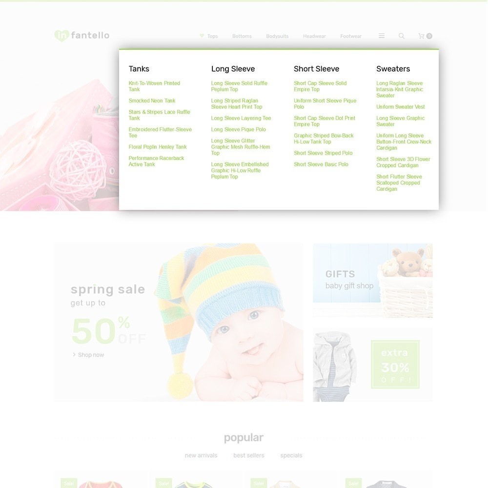 theme - Home & Garden - Infantello - Infant Clothing Store - 6