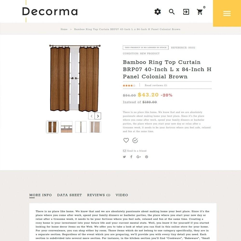 theme - Arte & Cultura - Decorma - per Un Sito di Home Decor - 3