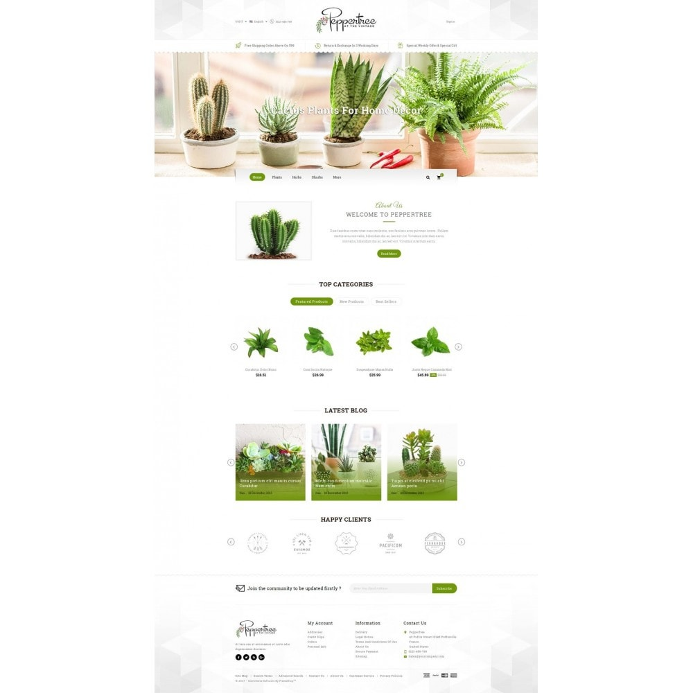 theme - Casa & Jardins - Peppertree - Garden Plants Store - 2