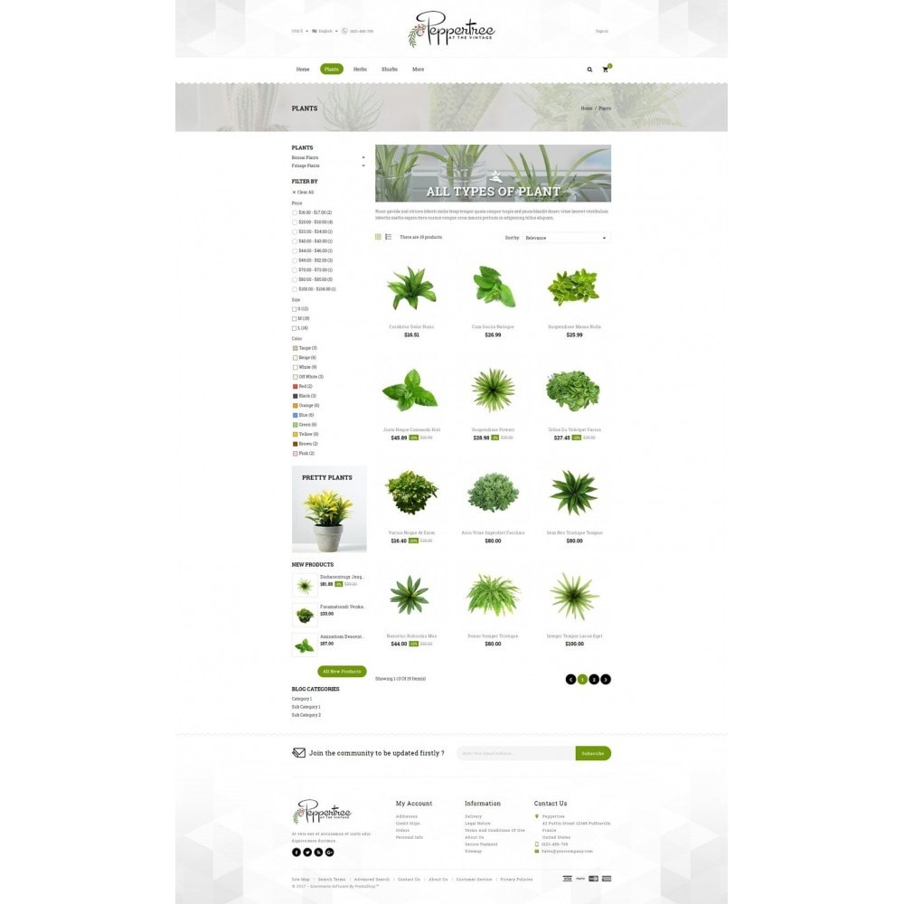 theme - Casa & Jardins - Peppertree - Garden Plants Store - 3
