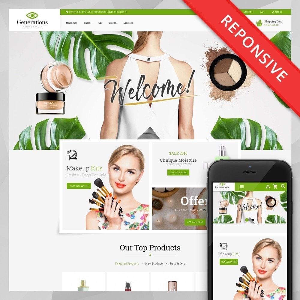 theme - Salud y Belleza - Generations Nature Beauty Store - 1