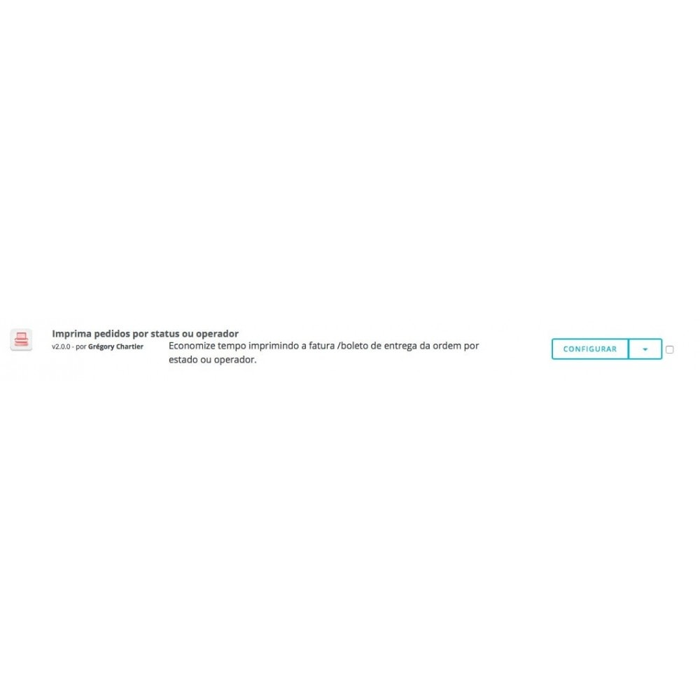 module - Preparação & Remessa - Imprima ordens por usuário e operador - 4