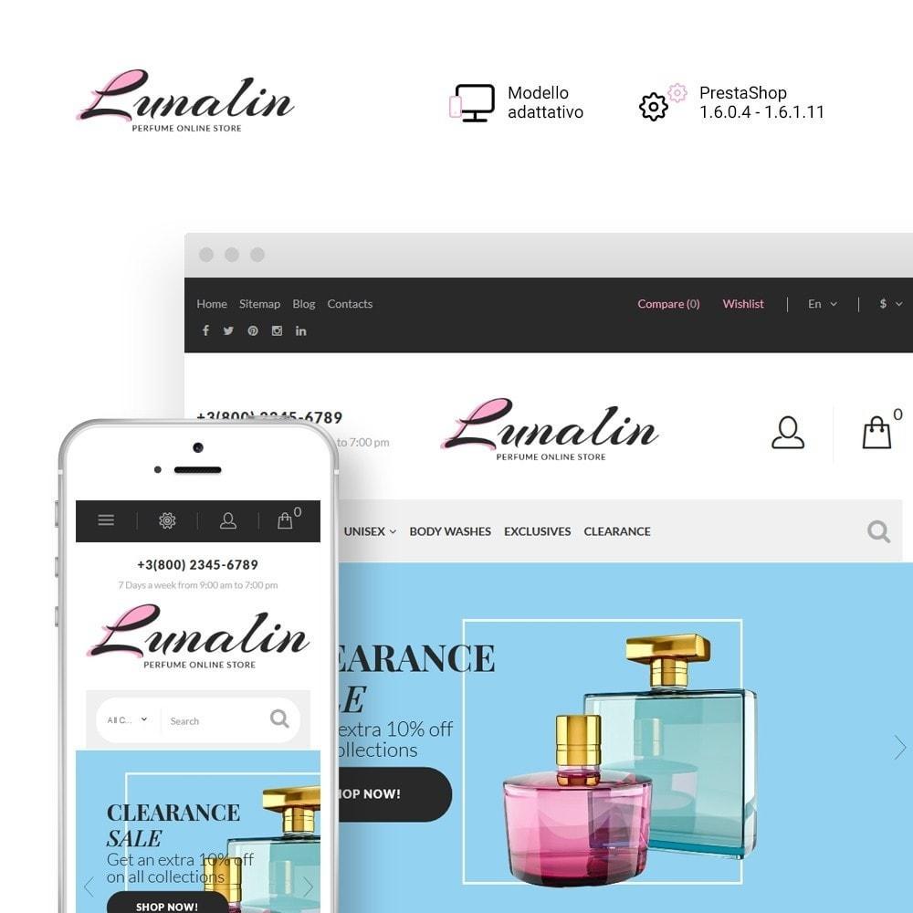 theme - Moda & Calzature - Lunalin - per Un Sito di Negozio Cosmetici - 2