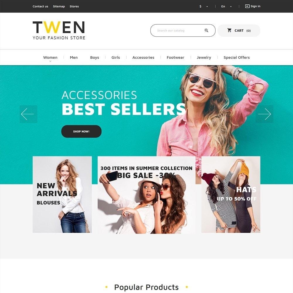 theme - Moda & Calzature - Twen - Tema per Un Sito di Fashion Store - 3