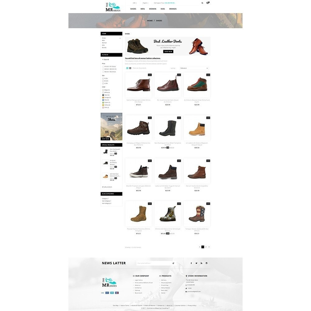 theme - Moda y Calzado - The MR shoes store - 3