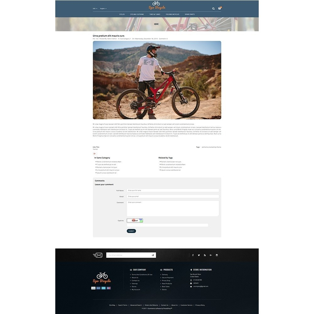 theme - Auto's & Motoren - Spo Bicycle Store - 8