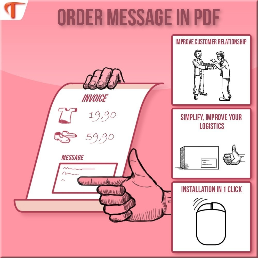 module - Contabilità & Fatturazione - Display Message(s) on  Invoice or/and Delivery Slip - 1