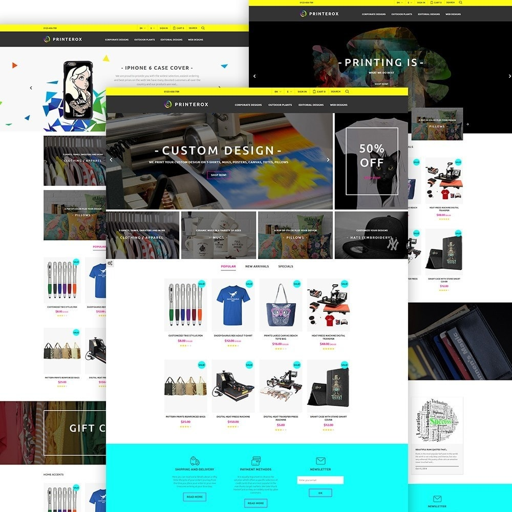 theme - Kultura & Sztuka - Printerox Design - 2