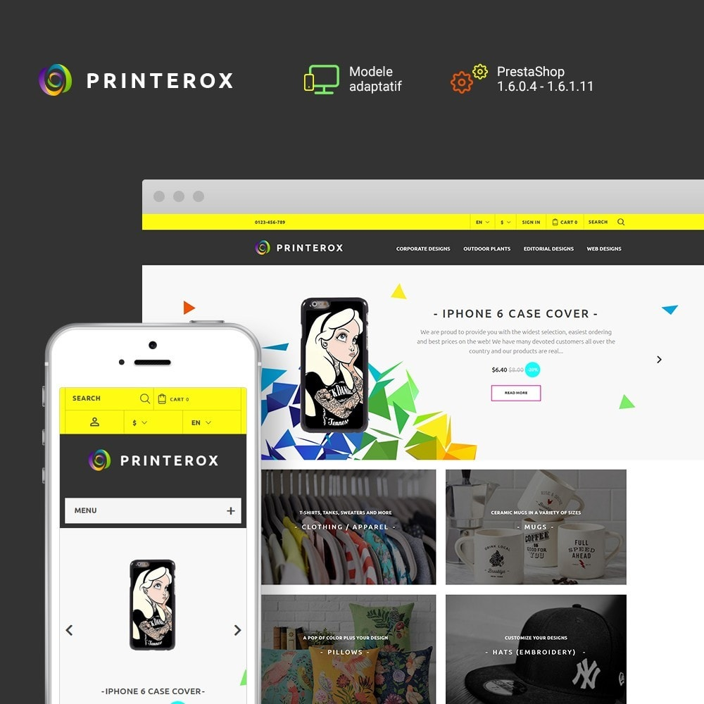 theme - Art & Culture - Printerox Design - 1