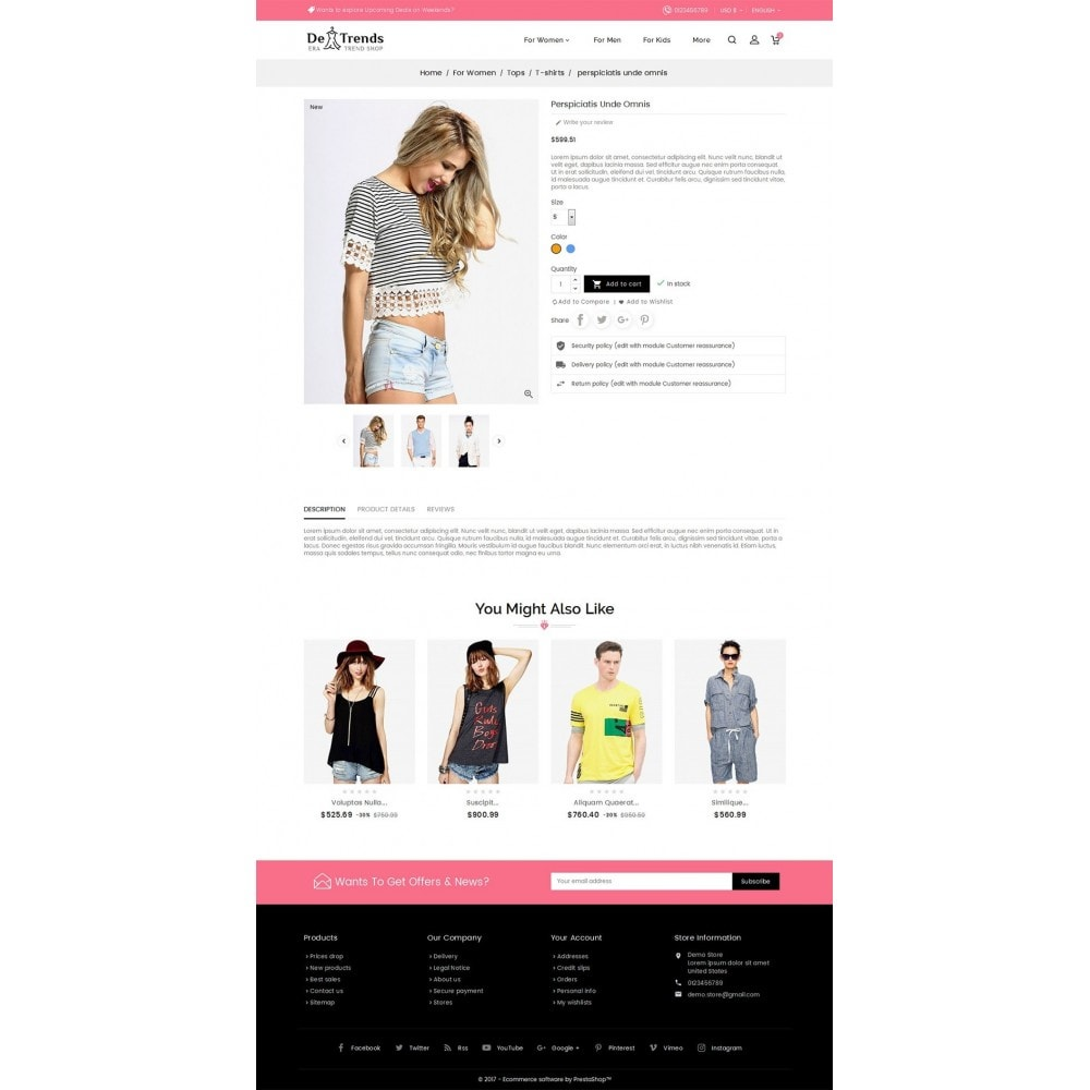theme - Moda & Obuwie - Trends Fashion Store - 5