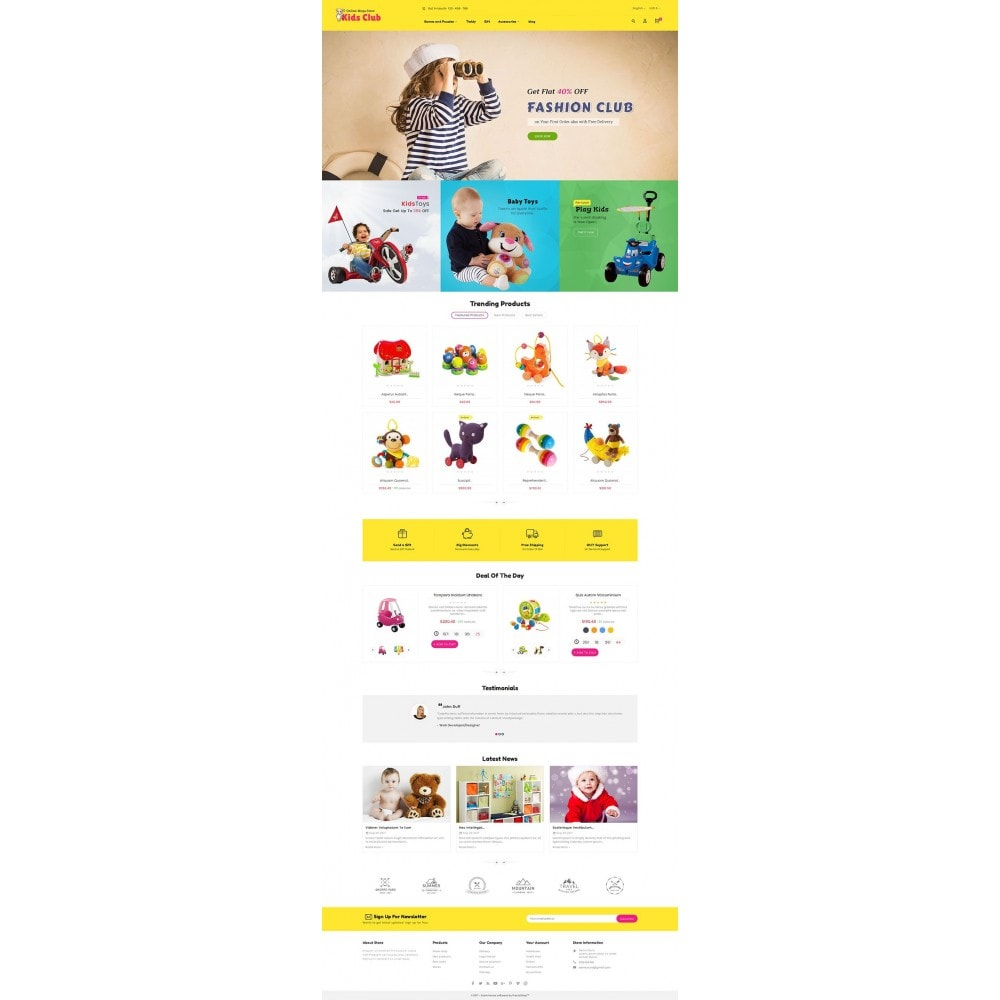 theme - Дети и Игрушки - Kids Toy Club - 2