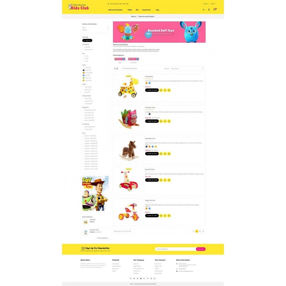 theme - Дети и Игрушки - Kids Toy Club - 4