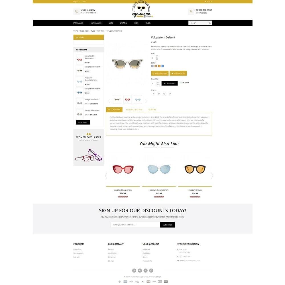 theme - Mode & Chaussures - EyeSugar Store - 5