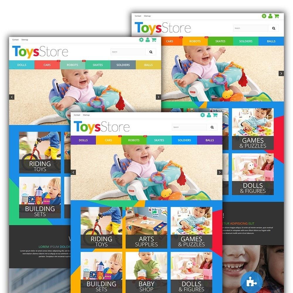 theme - Дети и Игрушки - Toys Store - 3