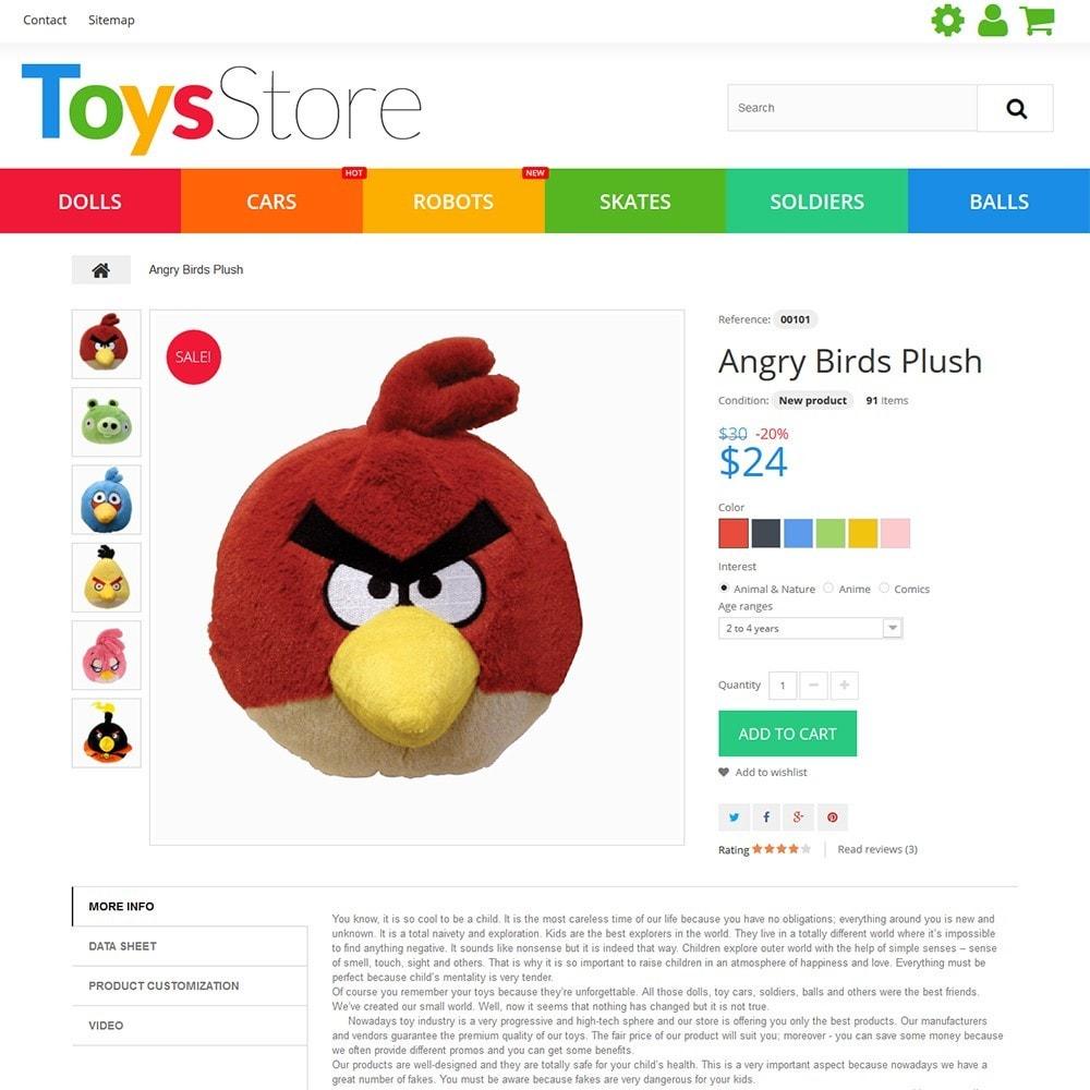 theme - Дети и Игрушки - Toys Store - 5