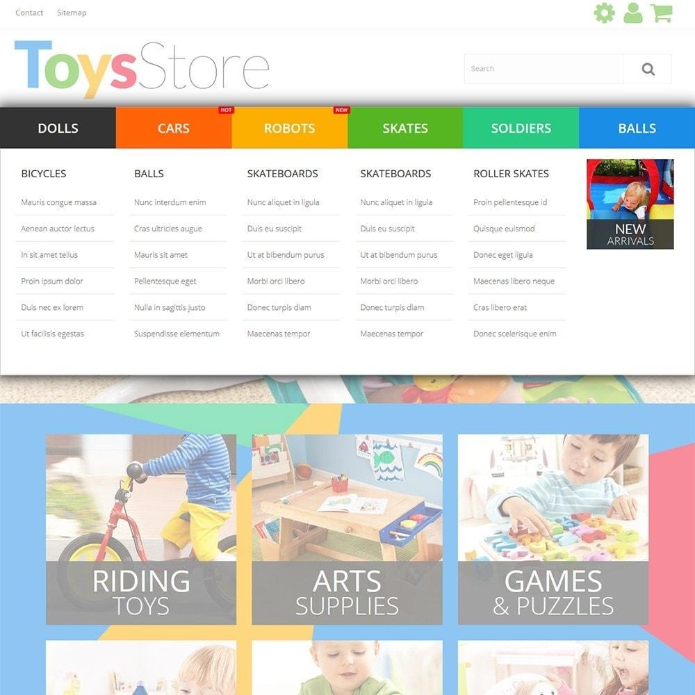 theme - Дети и Игрушки - Toys Store - 6