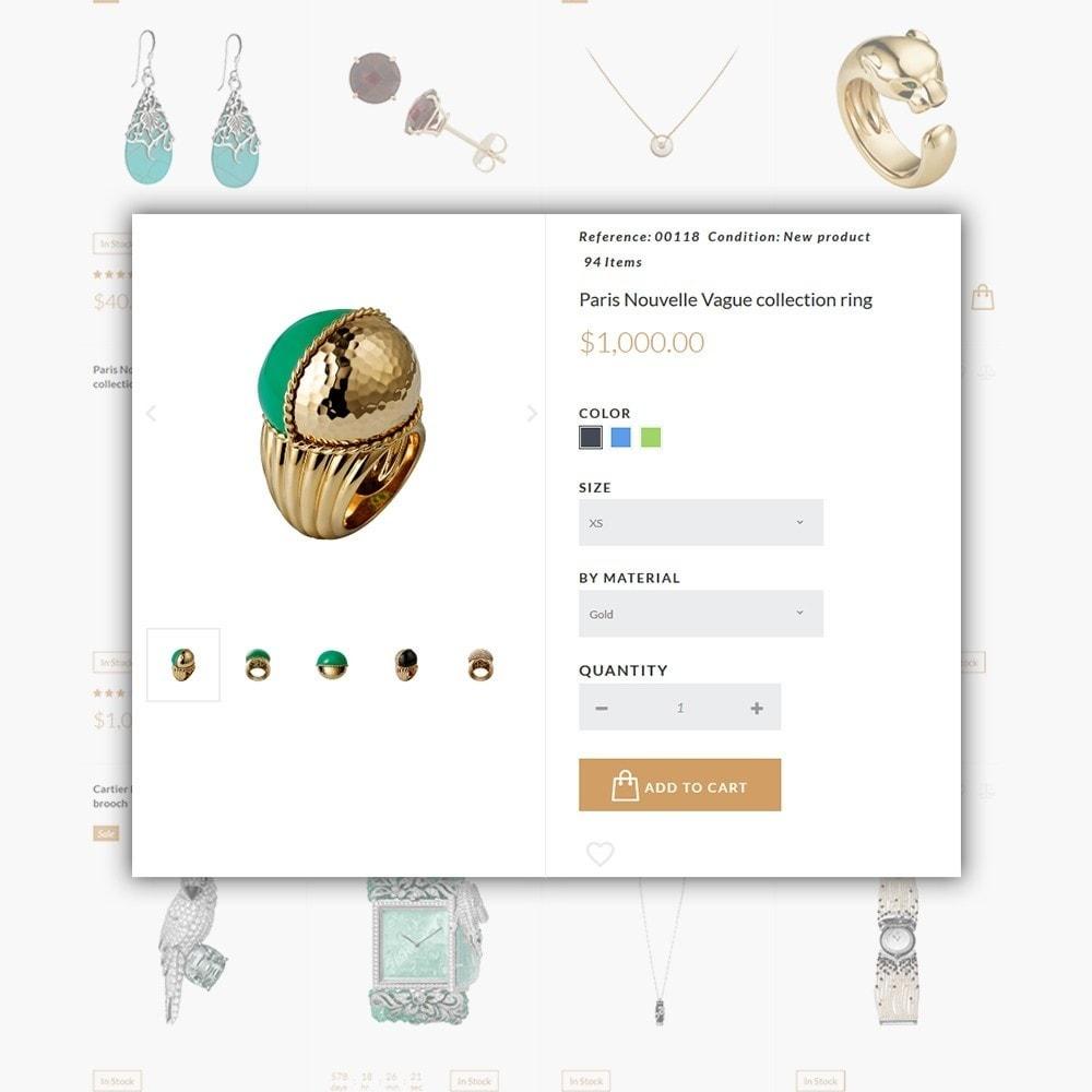 theme - Moda y Calzado - Jewelrix - para Sitio de Joyería - 3