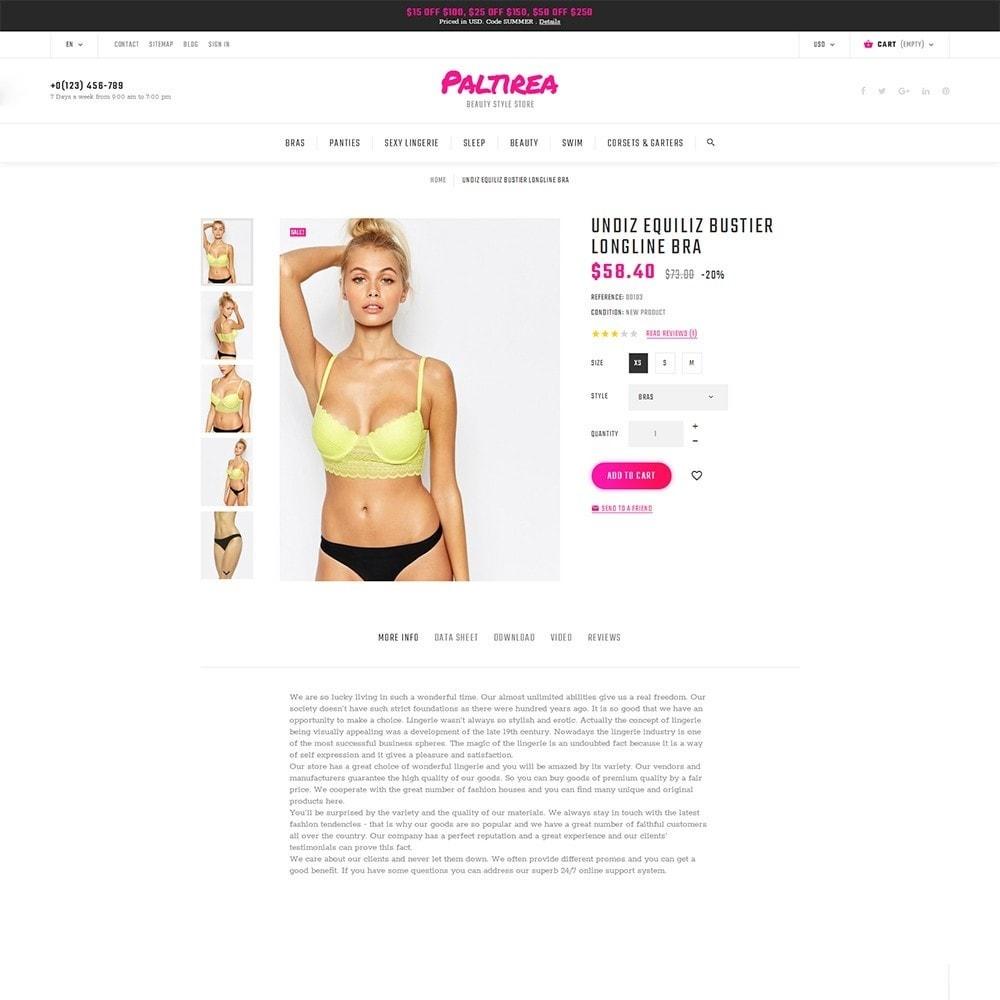 theme - Mode & Chaussures - Paltirea - magasin de lingerie thème - 3
