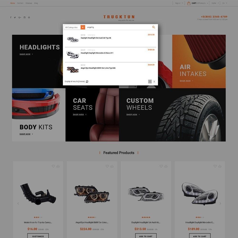 theme - Coches y Motos - Trucktun - para Sitio de Repuestos de coches - 6