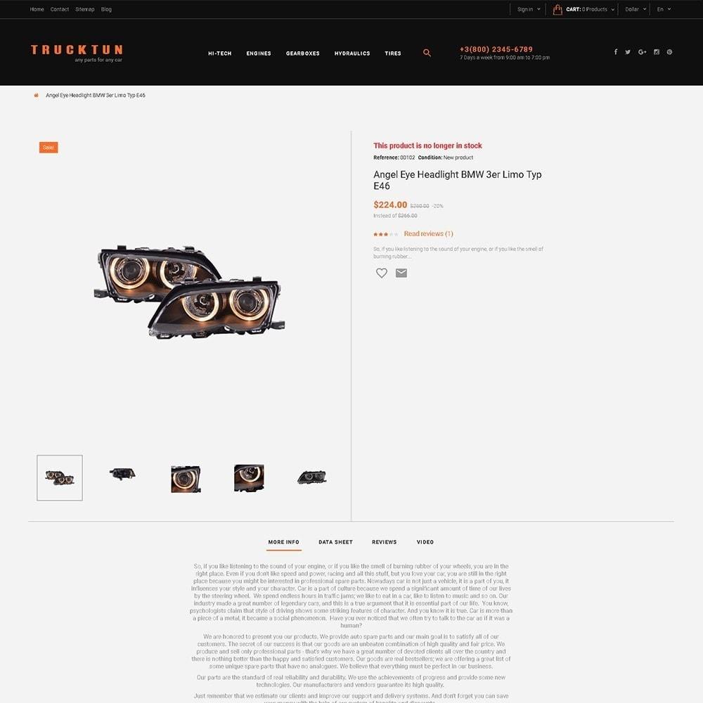 theme - Авто и Мото - Trucktun - магазин автозапчастей - 3