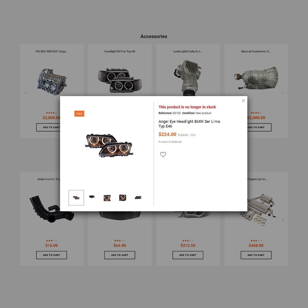 theme - Auto & Moto - Trucktun - per Un Sito di Ricambi Auto - 4