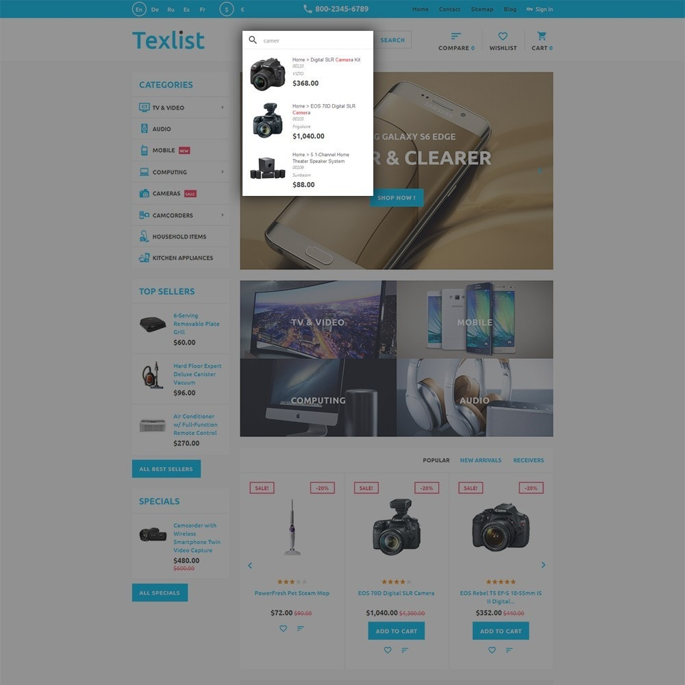 theme - Electronique & High Tech - Texlist - 6