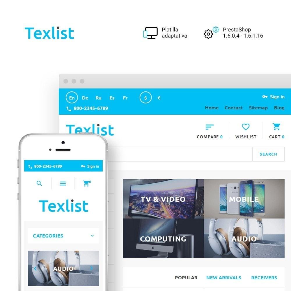 theme - Electrónica e High Tech - Texlist - 1