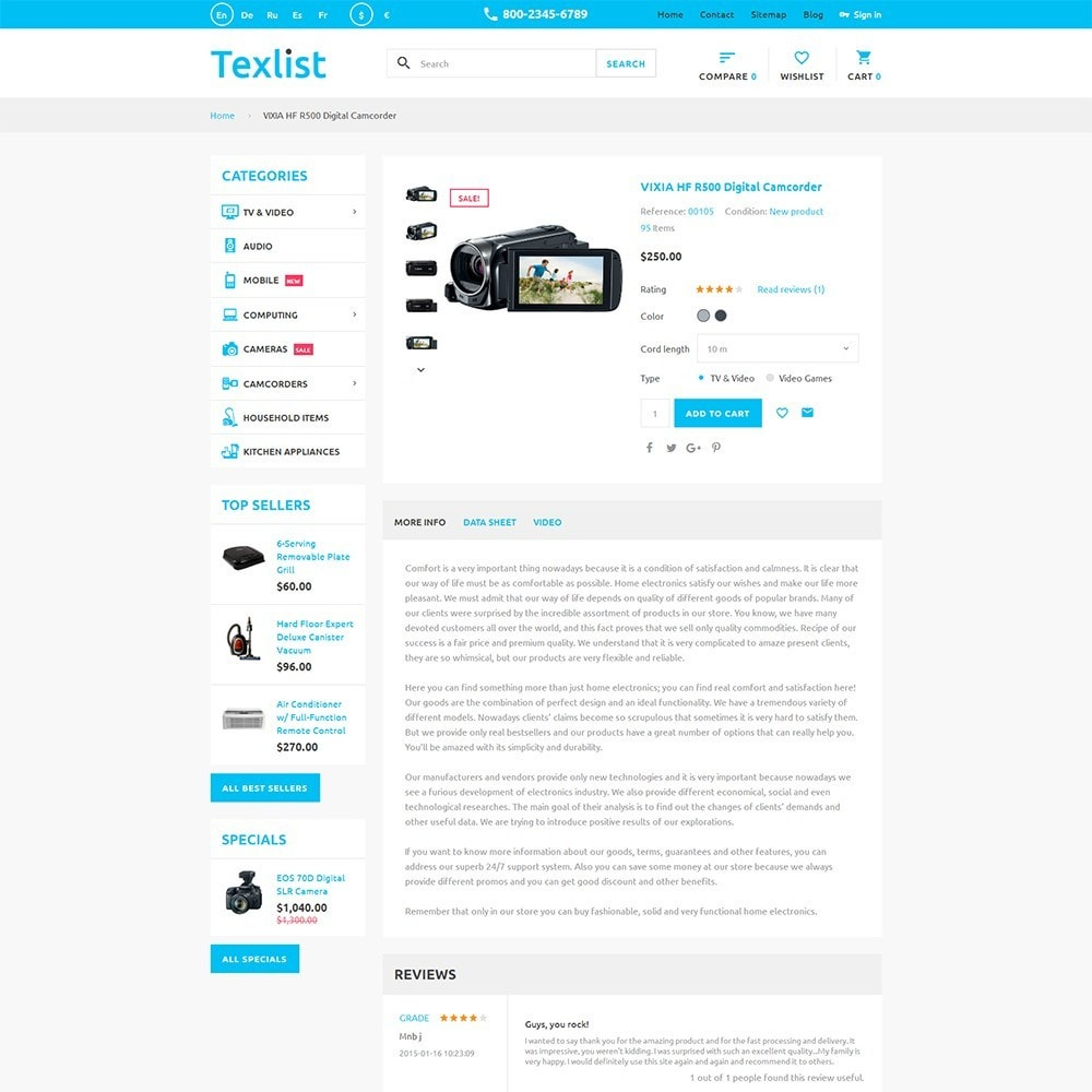 theme - Elettronica & High Tech - Texlist - 3