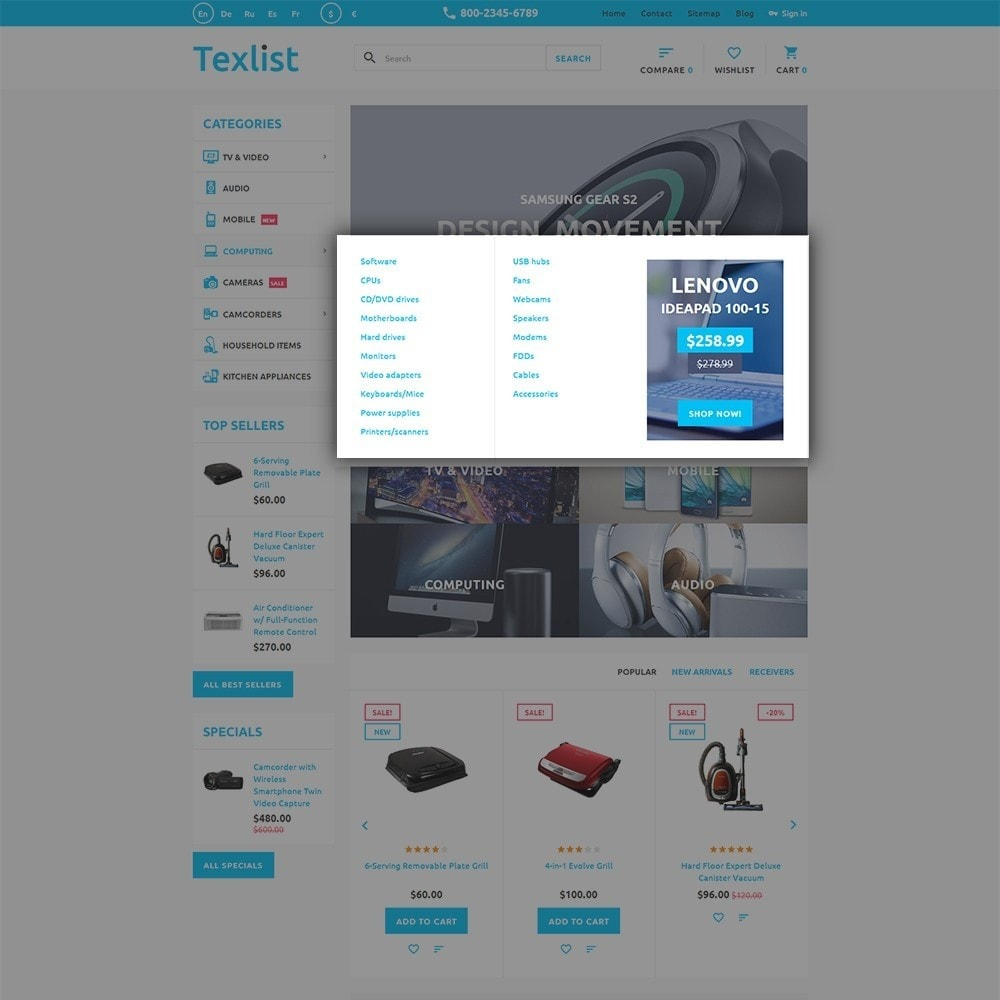 theme - Elettronica & High Tech - Texlist - 5