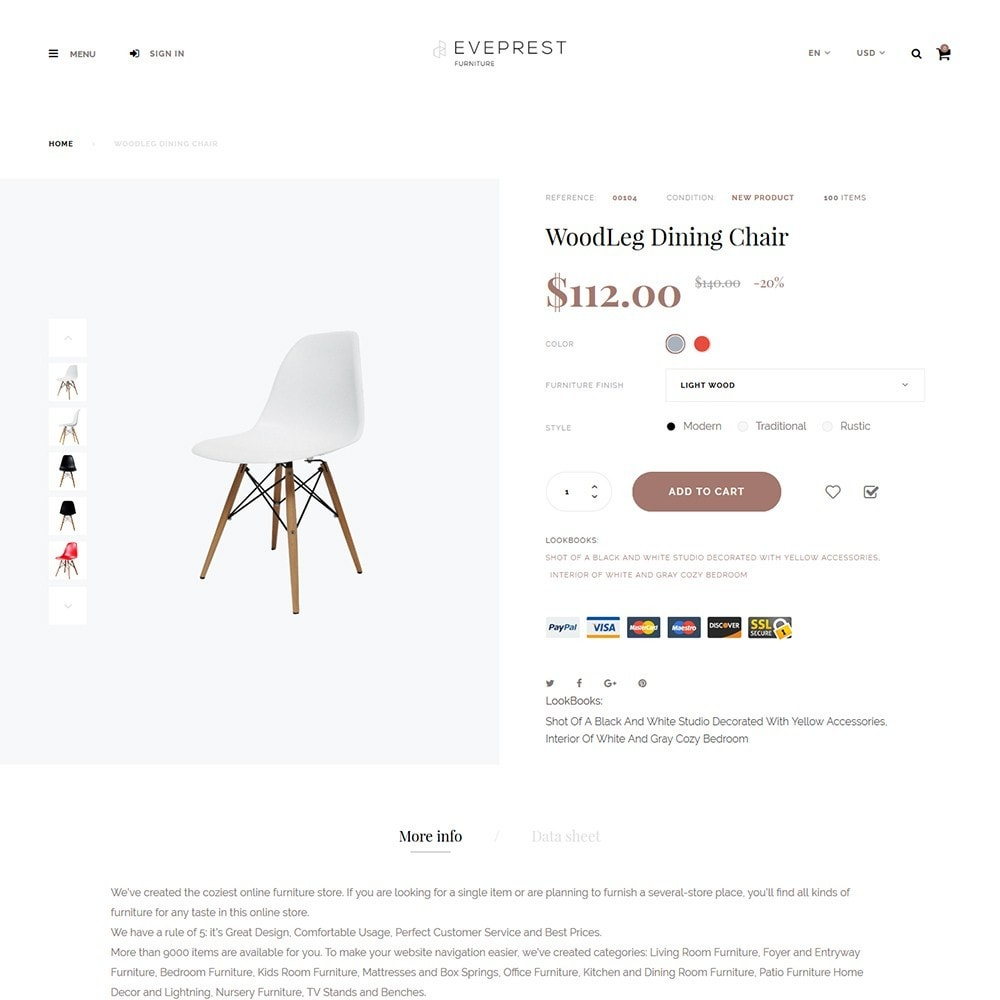 theme - Искусство и Культура - Eveprest - Furniture Store - 3