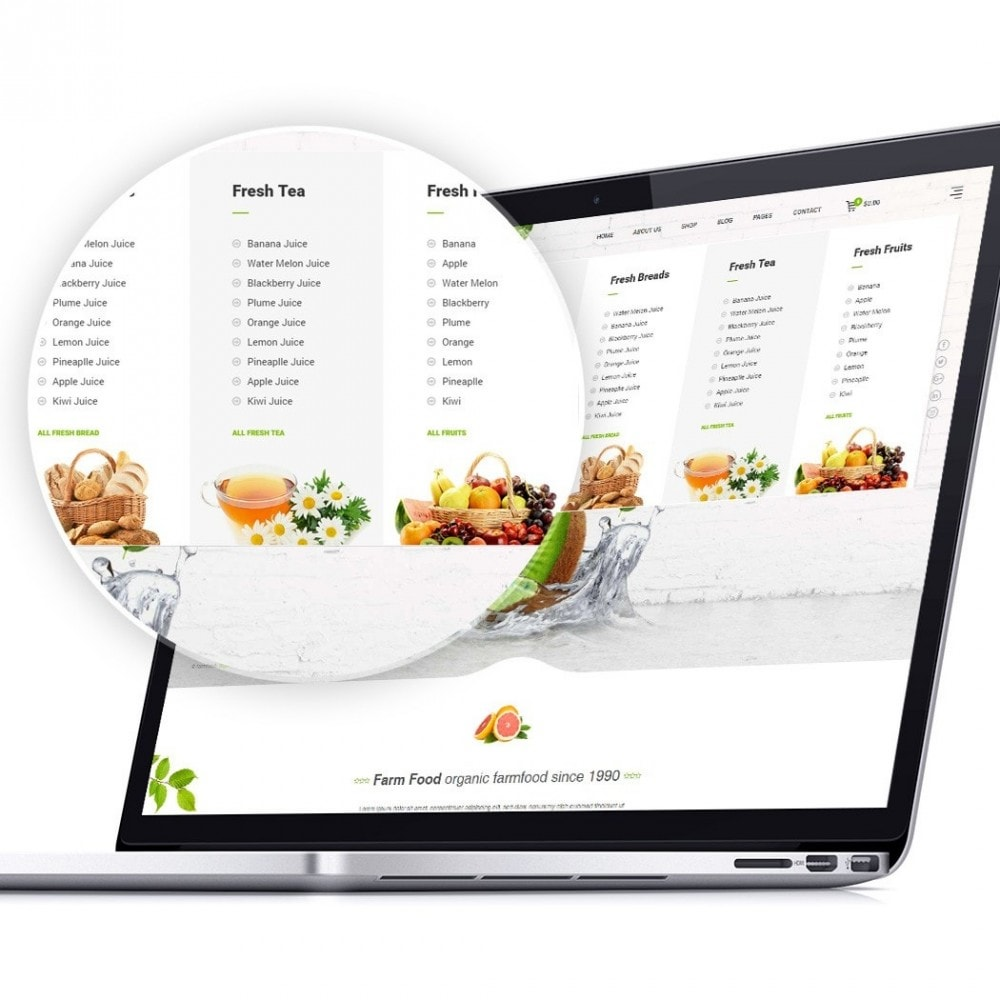 theme - Lebensmittel & Restaurants - JMS FarmFood - 3