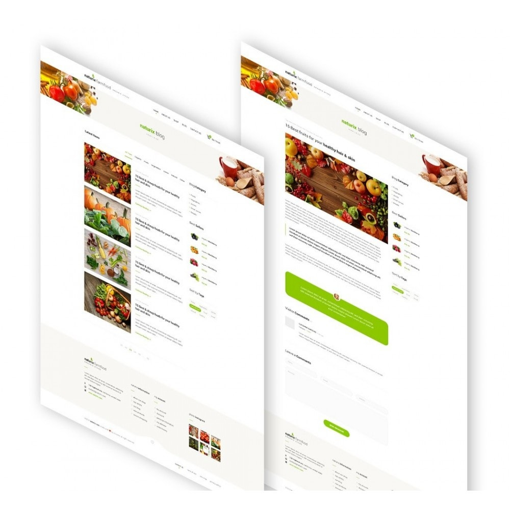 theme - Lebensmittel & Restaurants - JMS FarmFood - 5