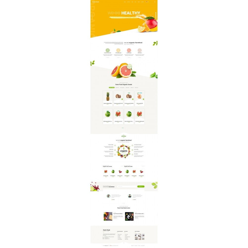 theme - Lebensmittel & Restaurants - JMS FarmFood - 6