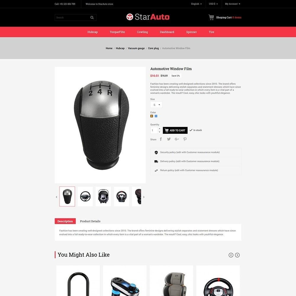 theme - Automotive & Cars - Starauto - Auto Store - 5