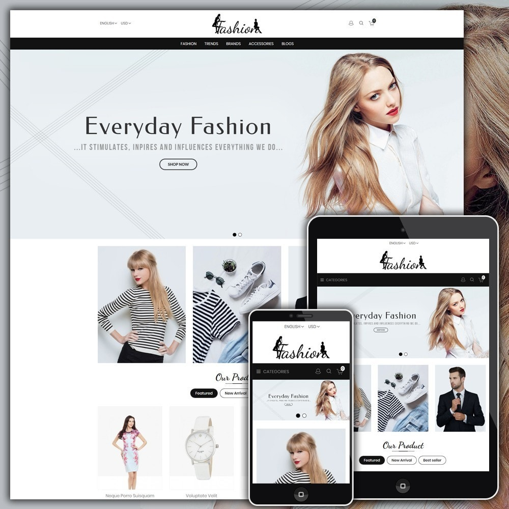 theme - Moda & Calzature - Fashion Shop - 1