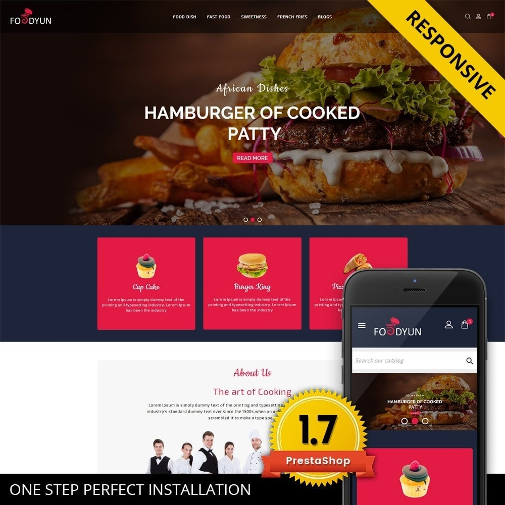 theme - Alimentation & Restauration - Foodyun - The Food Store - 1