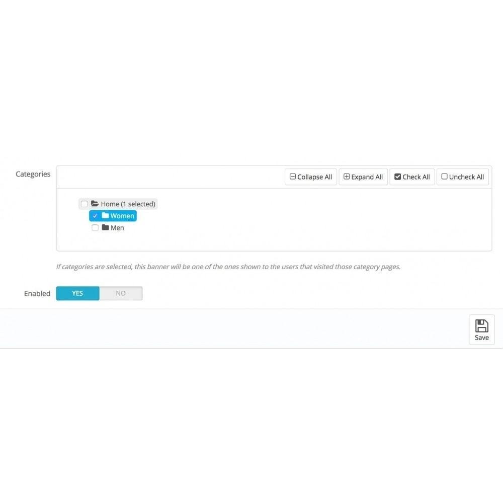 module - Personalizzazione pagine - Smart Banner, cambia con la navigazione dell'utente - 4