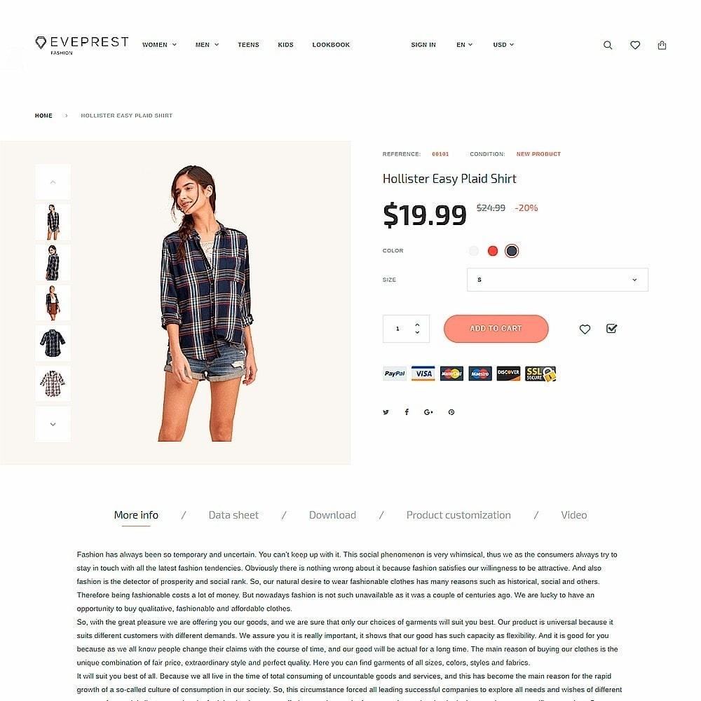 theme - Mode & Chaussures - Eveprest - Fashion Boutique - 3