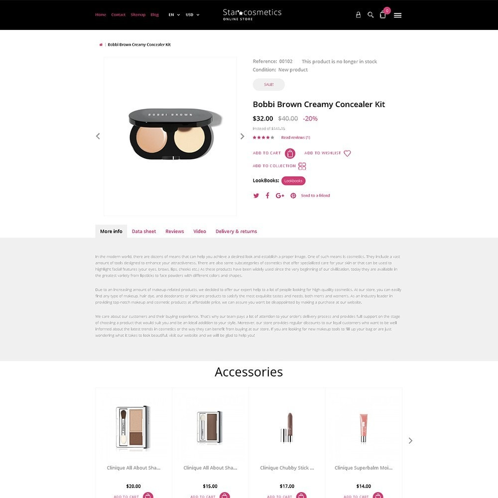 theme - Fashion & Shoes - Star Cosmetics - Beauty Items - 6