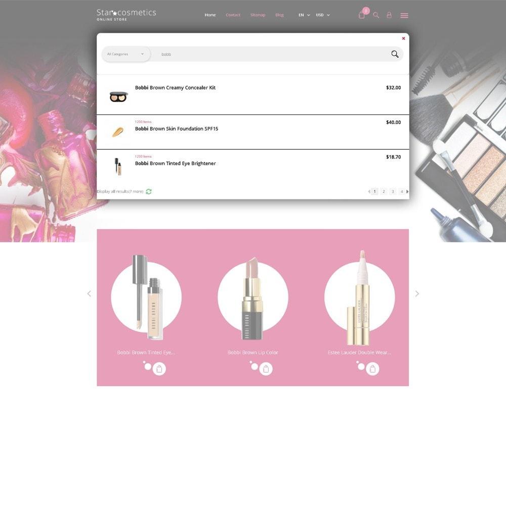 theme - Мода и обувь - Star Cosmetics - шаблон магазина косметики - 5