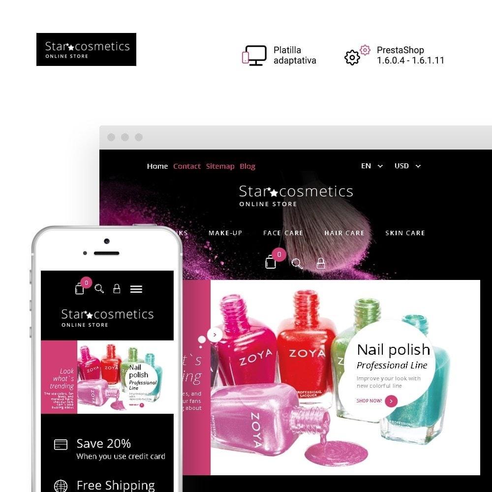 theme - Moda y Calzado - Star Cosmetics - para Sitio de Tienda de Cosméticos - 1