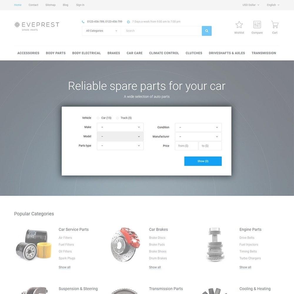 theme - Авто и Мото - Eveprest - Spare Parts - 4
