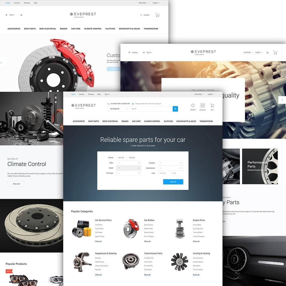 theme - Automotive & Cars - Eveprest - Spare Parts - 2