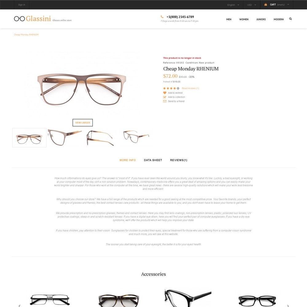 theme - Moda & Calzature - Glassini - Glasses Store - 3