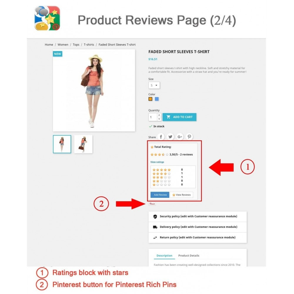module - SEO - Product, Shop Reviews, Reminder, Profile, Rich Snippets - 2