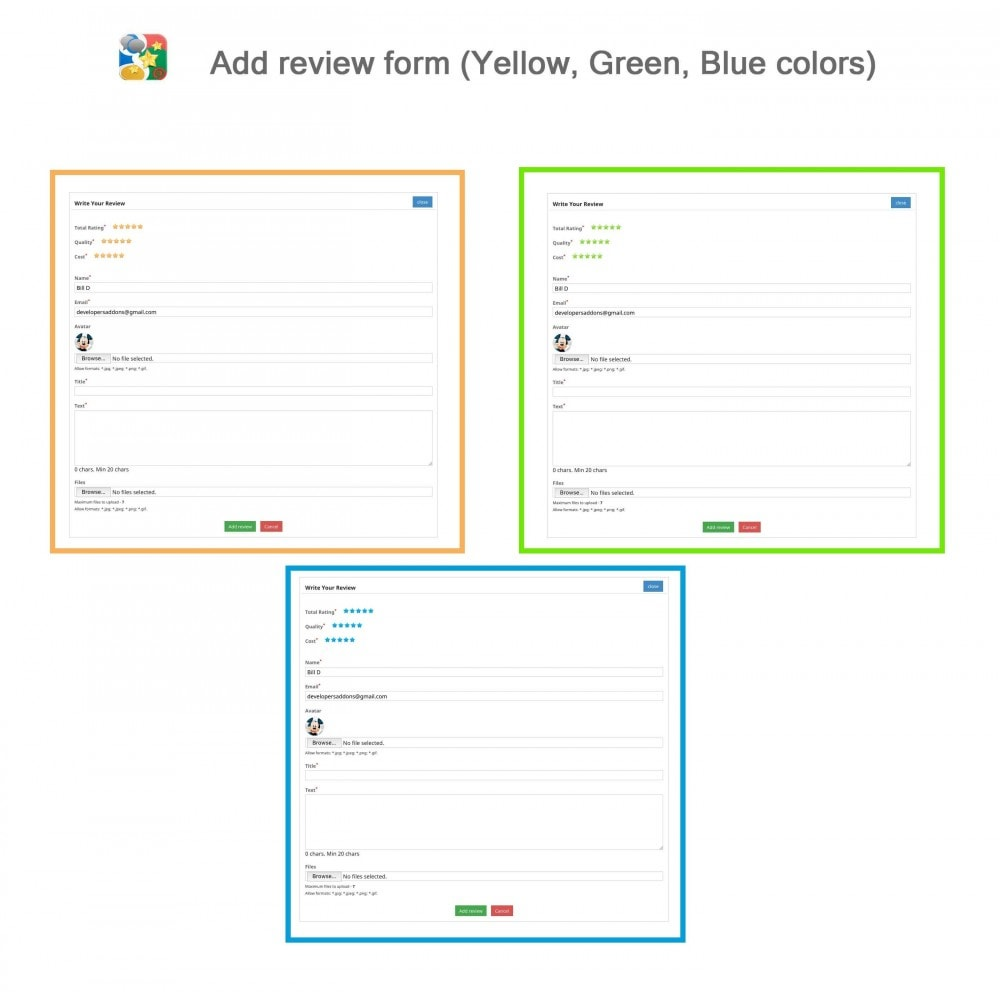 module - SEO - Product, Shop Reviews, Reminder, Profile, Rich Snippets - 7