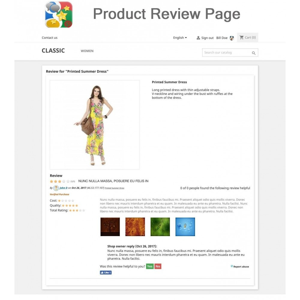 module - SEO - Product, Shop Reviews, Reminder, Profile, Rich Snippets - 11