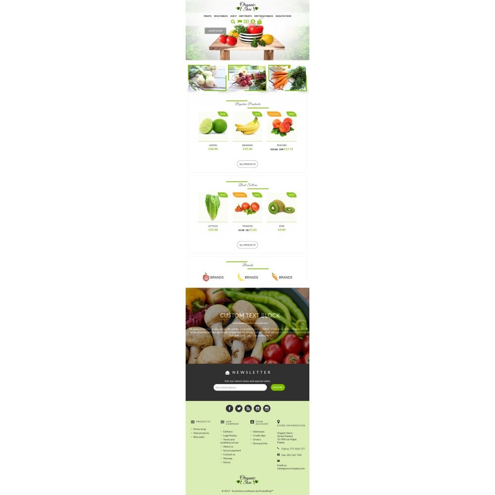theme - Lebensmittel & Restaurants - Organic Store - 5