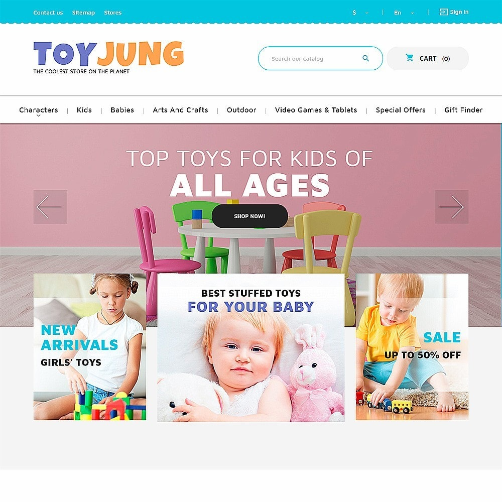 theme - Kinderen & Speelgoed - ToyJung - Toy Store Responsive - 2